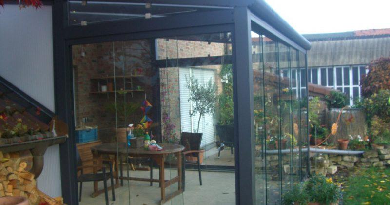 Terrassendach Selfkant Wintergarten Überdachung Terrassenüberdachung